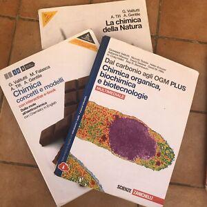 Zanichelli Chimica Della Natura, Organica, Biochimica
