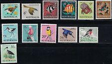 Australia SC400-411 Birds&Fish etc. MNH 1966