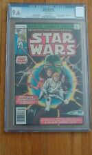 STAR WARS 1 - CGC 9.6 WHITE PAGES - A NEW HOPE