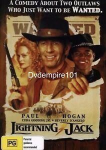 Lightning Jack DVD Paul Hogan New and Sealed Australian Release