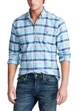 Men's Ralph Lauren Classic Fit Button Down Oxford Cotton Shirt,,MULTI,XXL