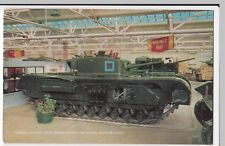 Dorset; Bovington Tank Museum, Churchill VII Tank PPC By J Salmon, Unposted