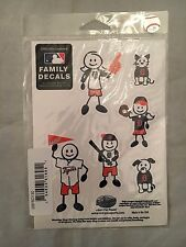 Detroit Tigers NEW Family Decal Stickers for Window . MLB Baseball Car Truck NWT