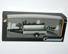 Cararama - Tow Car TRAILER (One Axle - Silver) - Model Scale 1:43