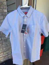 NWT • Craghoppers • Men's Nosilife Henri SS Shirt • Dusk Blue • Size M