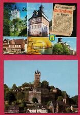 Duitsland: 2 ansichtkaarten Dillenburg ( met stamslot van Willem van Oranje)