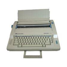 Ta Adler Royal Gabriele 100 Typewriter In Case Withkeyboard Lid 2 New Ribbons Vtg