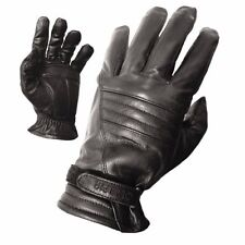 Olympia 400 Mens Leather Gel Black Classic Riding Gloves X-Small XS NEW Glove