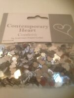 Silver Heart Table Confetti/ Wedding Accessories
