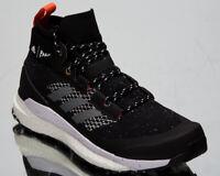 adidas Terrex Free Hiker Parley Men's Black Grey Blue Spirit Boost Hiking Shoes