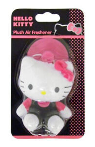 Hello Kitty Plush 3D Air Freshener Doll for Cars and Caravans Bedrooms Lock Down