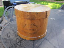Large Primitive Covered Shaker Pantry Cheese Box