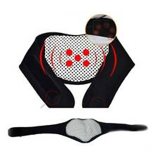 Self-heating Tourmaline Magnetic Neck Heat Therapy Support Belt Wrap Brace Pain