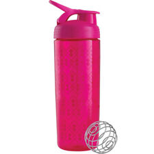 Blender Bottle SportMixer 28 oz. Sleek Tritan Shaker - Geo Lace Pink