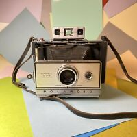 Vintage Polaroid Automatic 355 Land Camera For Parts Or Repair, Shutter Working