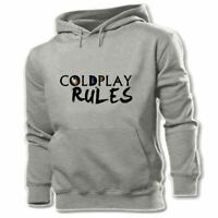 Coldplay Rules Print Sweatshirt Mens Womens Hoodies Graphic Hoody Hooded Tops