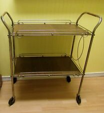 VINTAGE TWO SHELF KITCHEN CART, TEA CART,SERVING CART..TRUE RETRO