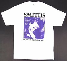 The SMITHS Rock T-shirt Le Tout Nouveau 45t! Morrissey Tee Men's White New