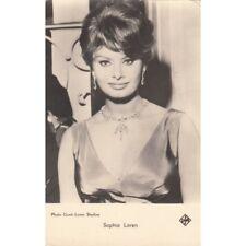 Carte postale Vedette Cinéma coll Korès Sophia Loren photo Grant-Lyons Studios