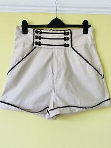 Ladies BNWT Shorts Sz 16 But Small Fit Punk/ Retro/ Rockabilly Design
