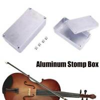 Aluminum Metal Stomp Box Cases Enclosure Guitar Effect Pedal Accessories 1590B