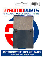 Rear brake pads for Kawasaki Z650 78-80