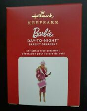 Hallmark 2020 Barbie Day-To-Night Limited Edition New Ornament
