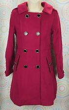 Women Fashion Windbreaker Warm Long Coat Peacoat Jacket Size XS Extra Small