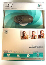 Logitech HD Webcam C310 Built In Microphone, Auto Light Correct, New Sealed