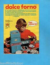 TOP972-PUBBLICITA'/ADVERTISING-1972- HARBERT - DOLCE FORNO