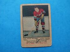 "1951-52 Parkhurst # 3 Emile ""Butch"" Bouchard Rookie  Montreal Canadiens  ( VG )"