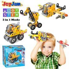 Joy-Jam Toys For 5-8 Year Old Boys STEM Building Blocks Set 3-In-1 DIY Puzzles