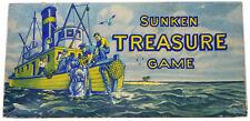 Vintage SUNKEN TREASURE GAME (1948) Parker Bros.