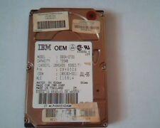 2.5 Hard Disk Drive IBM DBOA-2720 720MB 29H9529 JUL-95 E15614 189163-001