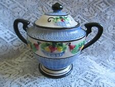 Small Painted Urn with Lid