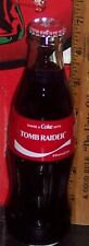 2018 COCA - COLA SHARE A COKE WITH TOMB RAIDER 8 OUNCE GLASS COCA - COLA BOTTLE