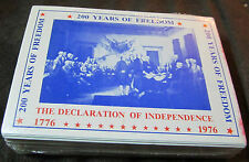 SEALED*America's Bicentennial*Card Set*From 1976*Revolutionary War Heroes+Events