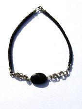 Modeschmuckstücke aus gemischten Metallen mit Onyx-Hauptstein
