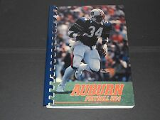 1984 Auburn Tigers FOOTBALL media guide - Bo Jackson on cover - 208 SPIRAL pages