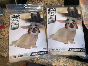 Disney Star Wars The Mandalorian The Child Pet Costume Size Small New In Pack