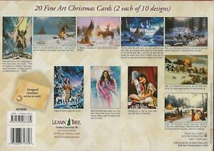 Leanin Tree Greeting Cards 20 Box Set  NATIVE SPIRIT