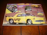 1955 THUNDERBIRD T-BIRD SUPERCHARGED RACE CAR ***ORIGINAL 1989 ARTICLE***