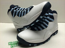 Nike Air Jordan 10 X Retro Ice Blue 2005 DMP Cement Red Steel OVO Bred Sz 10 NDS