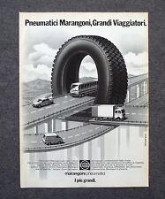 G707 - Advertising Pubblicità - 1987 - MARANGONI PNEUMATICI I PIU' GRANDI