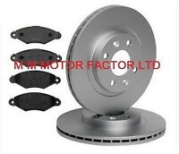 RENAULT KANGOO (99-08) 1.2 1.4 1.5 DCi 1.6 1.9 FRONT BRAKE DISCS AND PADS 258mm