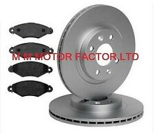 FOR RENAULT KANGOO (99-08) 1.2 1.4 1.5 DCi 1.6 1.9 FRONT BRAKE DISCS AND PADS