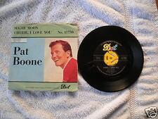 1958 Pat Boone DOT Records 45-15750 Sugar Moon 45 RPM VG+ PS