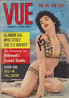 Vintage cheesecake -  pinup digest magazine #073 - MAY 1958 VUE