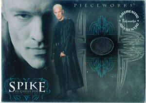 Spike the Complete Story Pieceworks PW1 Leather Coat BtVS + Redemption Card PR1