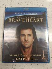 Braveheart (Blu-ray Disc, 2013, 2-Disc Set) New Sealed!